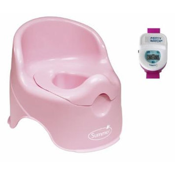 Summer Infant Lil' Loo Time Potty Seat with Potty Watch Potty Training Timer