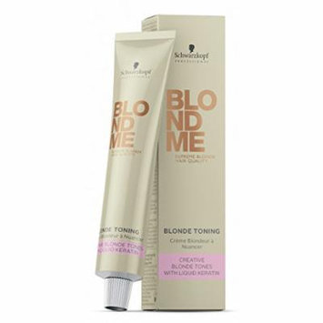 Schwarzkopf BlondMe Blonde Toning Hair Color Creme - Apricot 2.11oz