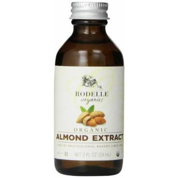 Rodelle Organics Pure Almond Extract, 2 Ounce