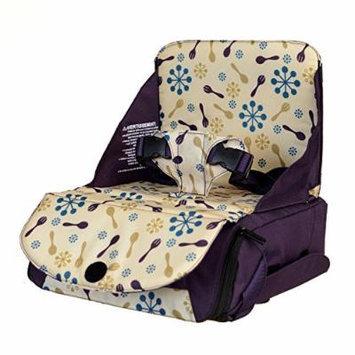 Munchkin Travel Booster Seat Portable High Chair Blue Green Purple