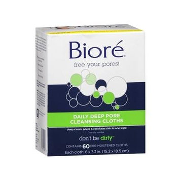 Biore Daily Cleansing Cloths 60