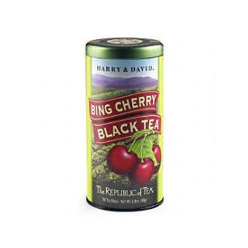 The Republic of Tea, Bing Cherry Black Tea (Harry & David), 50 Count
