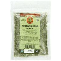 Aromatica Organics Salt Free Seafood Herb Blend, 1-Ounce
