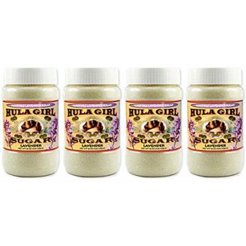 Hula Girl Maui Isle Lavender Sugar - 4Jars