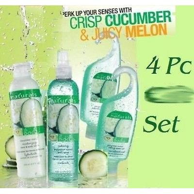 Avon Naturals Fresh Cucumber Melon 4-Pc. Set