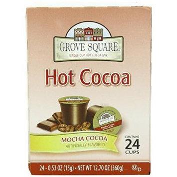 Grove Square Mocha Hot Cocoa Single-Serve Cups, 48 Count