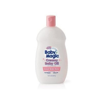 Baby Magic Baby Oil Creamy, Sweet Baby Rose