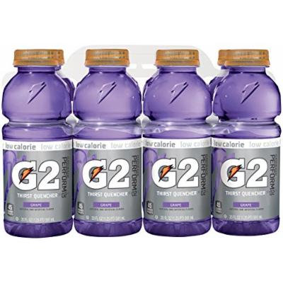Gatorade G2, Grape, 8 Pack, 20 oz each