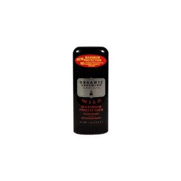 Herban Cowboy Natural Grooming Deodorant, Wild 2.8 oz (Pack of 2)