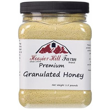 Hoosier Hill Farm Granulated Honey Crystals, 1.5 lb
