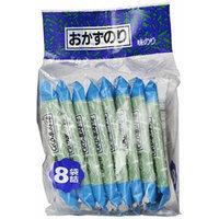 Shirako Seaweed Roasted Okazu Nori - 8 Individual Packs in a Bag for Sushi and Musubi