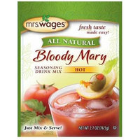 Mrs. Wages Hot Bloody Mary Seasoning Mix-3 (THREE) 2.7oz Packages