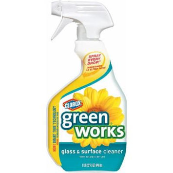 Greenworks Glass & Surface Cleaner Spray, 32-Ounce Spray Bottle (Pack of 12)
