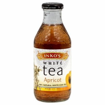 Inko's Ready to Drink White Apricot Tea 16 oz. (Pack of 12)