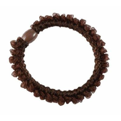 Smoothies Looped Ribbon Elastics-Brown pr. 01799