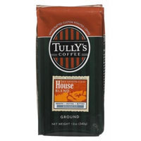 Tully's Coffee Decaf House, Ground , 12 Ounce Bags (Pack of 3)