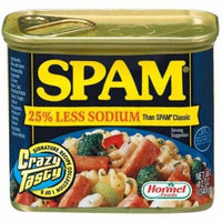 Spam, 25% Less Sodium, Canned Meat, 12 Oz (Pack of 3)