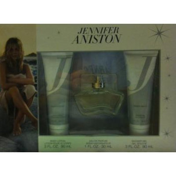 Jennifer Aniston for Women Gift Set (Eau de Parfum Spray, Body Lotion, Shower Gel)