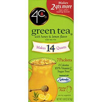 4C Totally Light Green Tea, 7-Count Packets (Pack of 4)