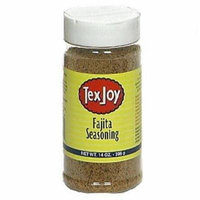 Tex Joy, Tex Joy Fajita Seasoning 14 oz, 14 OZ (Pack of 6)