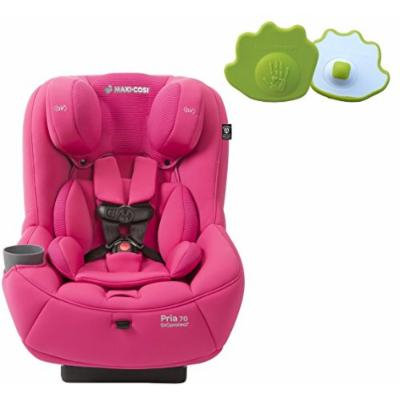 Maxi-Cosi Pria 70 Convertible Car Seat with Easy Clean Fabric PLUS Seat Belt Buckle Release Aid, Pink Berry