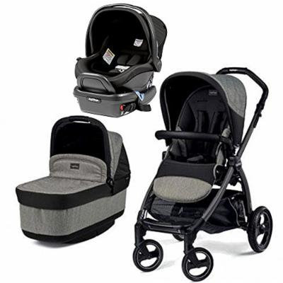 Peg Perego Book Pop Stroller with Peg Perego Primo Viaggio 4/35 Infant Car Seat (Atmosphere)