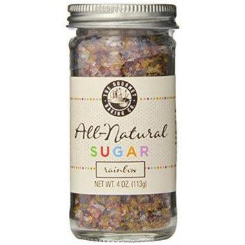 Pepper Creek Farms All Natural Sugar, Rainbow, 4 Ounce