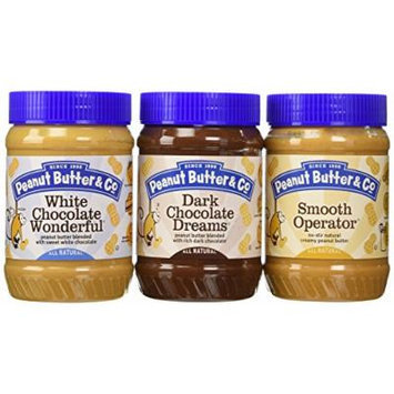 Peanut Butter & Co. Peanut Butter Variety Pack of 3,16 Oz each