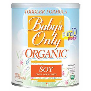 Nature's One: Baby's Only Organic Soy Iron Fortified Toddler Formula (1 X 12.7 Oz)