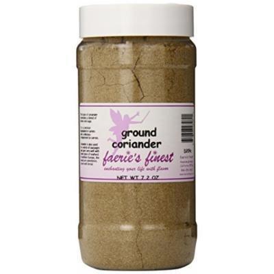 Faeries Finest Ground Coriander, 7.20 Ounce