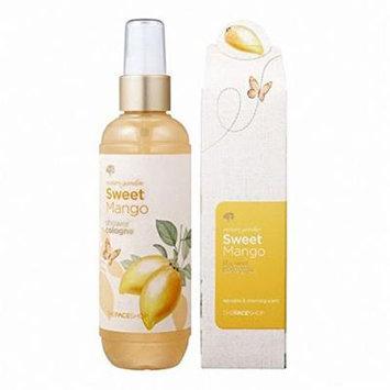 [The Face Shop] Nature Garden Sweet Mango Shower Fragrance Cologne 150ml
