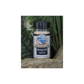 Salt, Himalayan Pink Crystal Salt, fine, 8 oz. jar