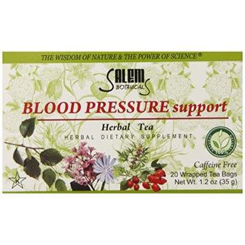 Salem Botanicals Herbal Tea, Blood Pressure Support, 20 Count