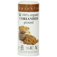 Spicely Eco Organic Coriander Seeds Ground, 1.6 Ounce