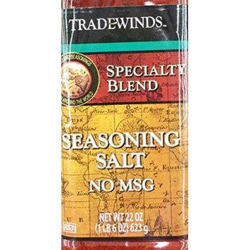 One - 22oz Trade Winds Seasoning Salt, NO MSG