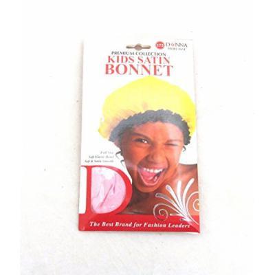 Donna Kids Satin Bonnets - Pink