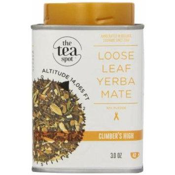 The Tea Spot Loose Leaf Tea Tin, Climber's High, 3 Ounce (Pack of 4)