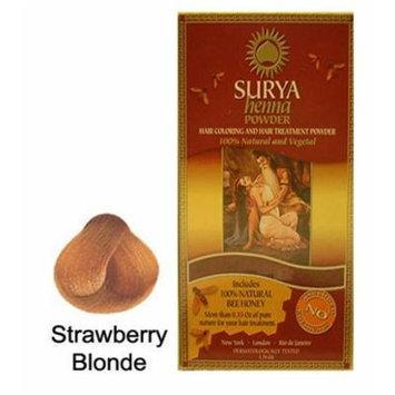 Surya Henna Strawberry Blonde Powder 1.76 Ounces