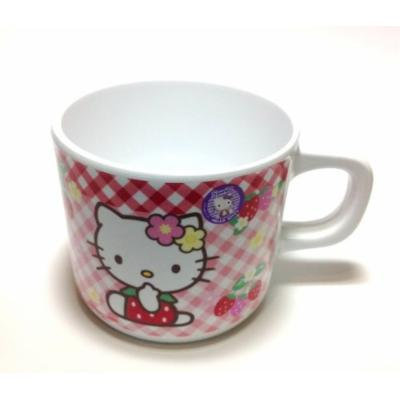 Sanrio Hello Kitty Cute Melamine Toddler Mug (Pack of 2)