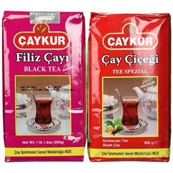 Turkish Black Tea Duo by Caykur - Filiz & Caycicegi