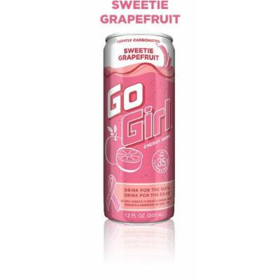 16 Pack - Go Girl Energy Drink - Sweetie Grapefruit - 12oz.