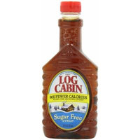 Log Cabin Sugar Free Syrup, 12 Ounce (Pack of 6)