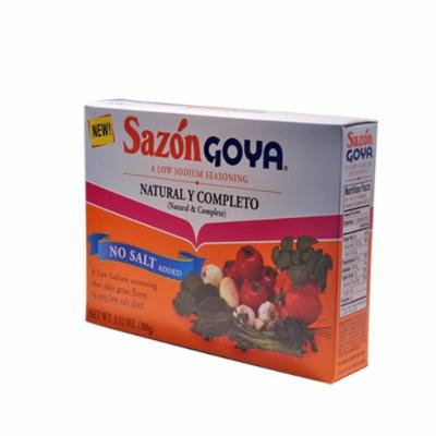 Goya® Low Sodium Sazón Natural and Complete