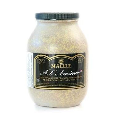 Whole Grain Mustard - 9 Lbs - Kosher