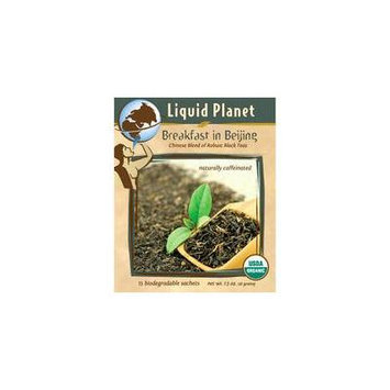 Liquid Planet Organic Tea Breakfast in Beijing 100ct Bulk Sachet
