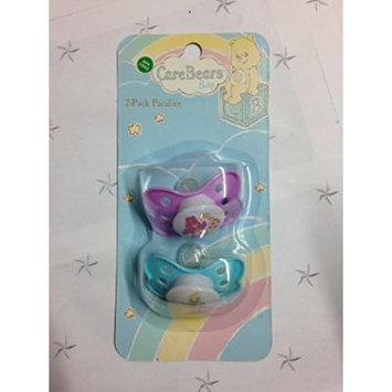 Cute Bear (blue) & Baby Bear (purple) Care Bears Baby BPA Free Pacifiers