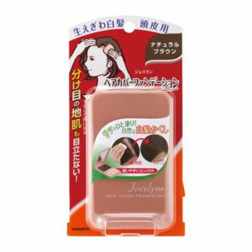 YANAGIYA Jocelyne Hair Cover Foundation Natural Brown 13g for Gray Hair