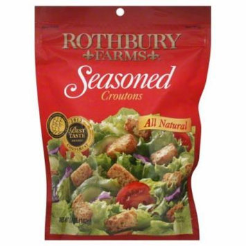 Rothbury Farms Seasoned Croutons 6 oz - Pack of 12