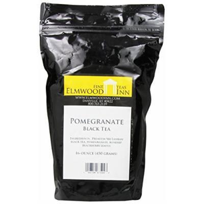 Elmwood Inn Fine Teas, Pomegranate Black Tea, 16-Ounce Pouch