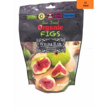Sun-dried Turkish Organic Figs,natural Antioxidants,no Added Sugar (12 Packs)